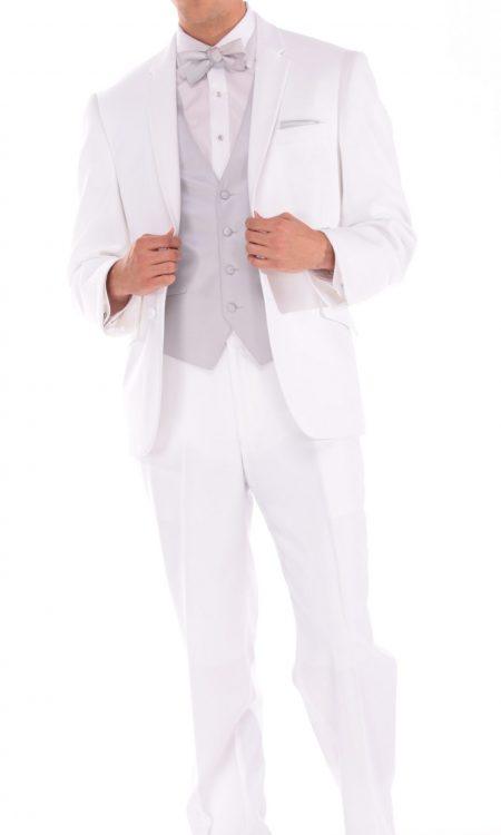 White Asbury Suit