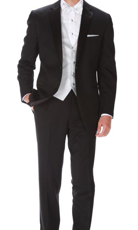 Ike Behar Black – Parker Tuxedo