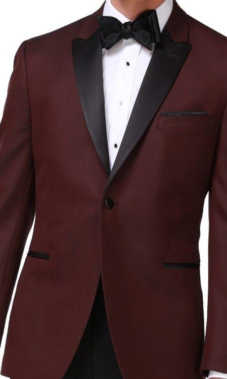 Ike Behar Burgundy – Marbella Tuxedo