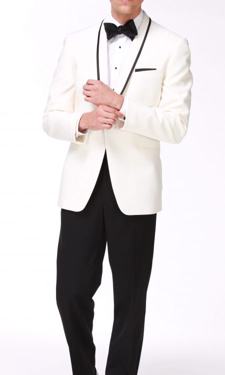 Ike Behar Ivory – Charles Tuxedo