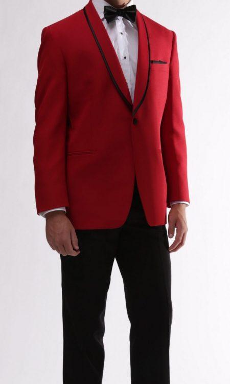 GiNovia – Red Carmine Tuxedo