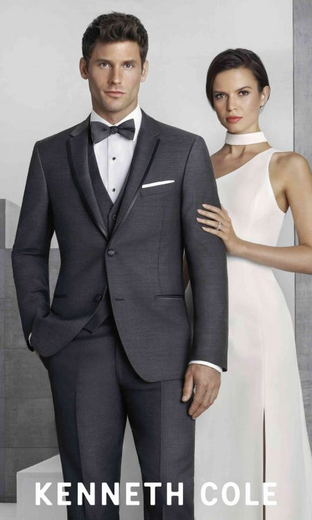 265M Kenneth Cole Charcoal Tuxedo 9828C-08-1